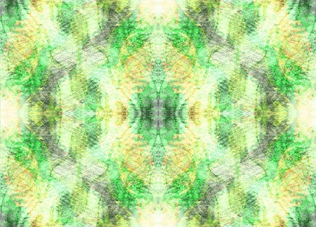 expansion: Seamless symmetrical pattern to the center. Mystery, Fantasy, Aura