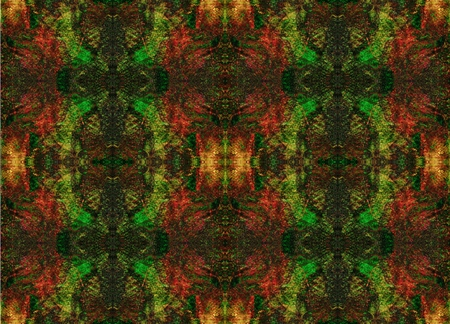 converted: Seamless symmetrical pattern to the center. Mystery, Fantasy, Aura