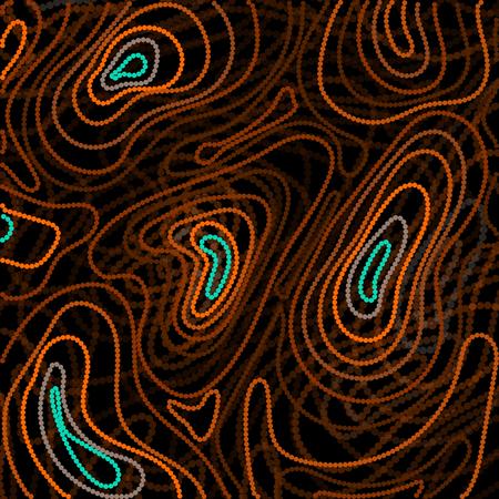 Abstract style based of Australian Aboriginal art. geometric background pattern. Ethnic style.