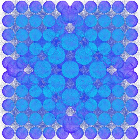 semitransparent: Background pattern of circles. Undulating shapes. Semi-transparent objects. Grunge background.