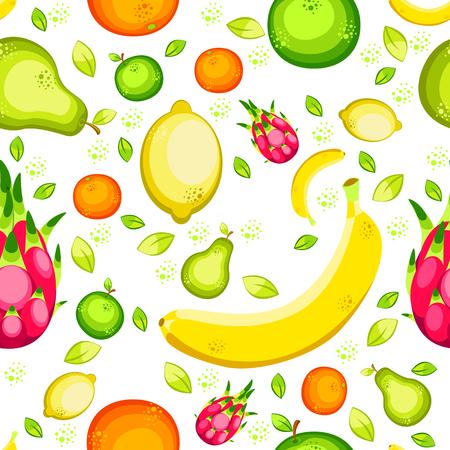Fruits Seamless pattern.
