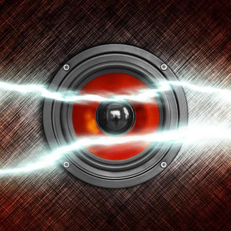Power of music. Square composition. Standard-Bild