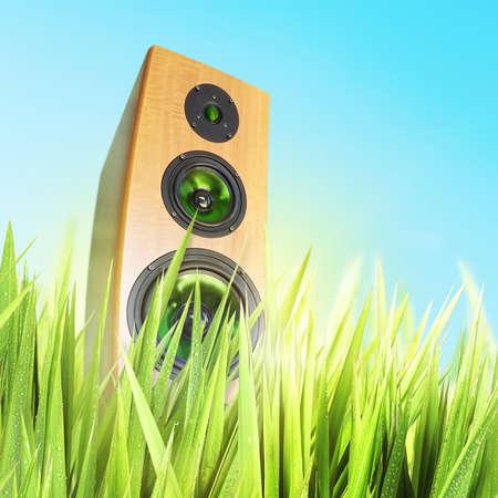 sound system: Sunny sound.