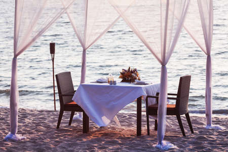 Place for romantic dinner photo