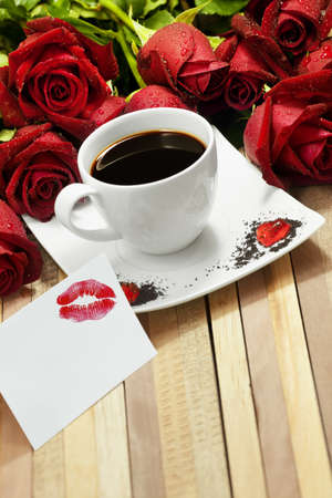 Romantic coffee photo