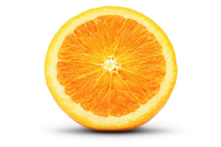 focus stacking: Perfect slice of orange