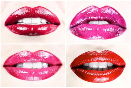 美しい女性の唇コレクション