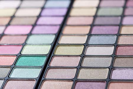 pallette: Eye shadow palette professionnelle Banque d'images