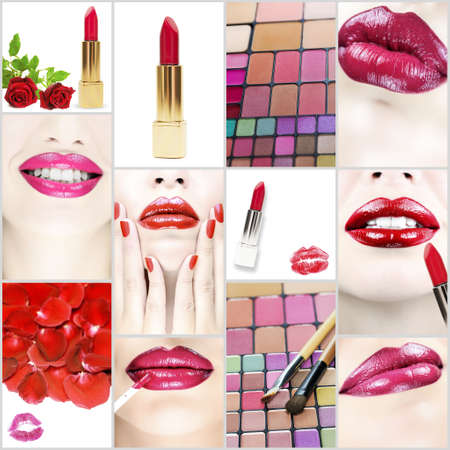 Beauty and cosmetics collection photo