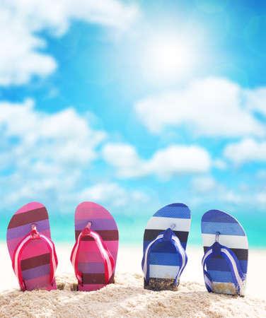Flip-flops photo