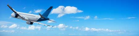Jet in flight