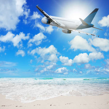 Tropical vacation concept Stock Photo - 23043587