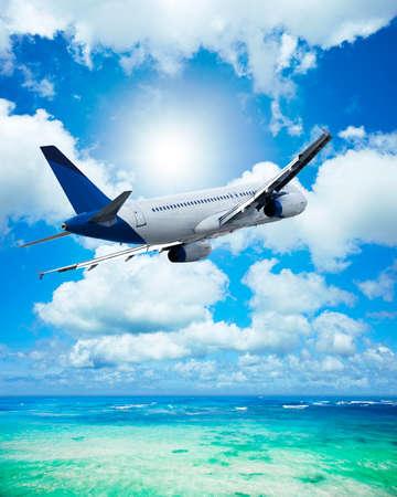 Air travel concept. Vertical composition. Stock Photo - 24815029