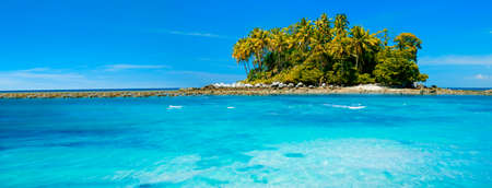 Exotic tropical island photo