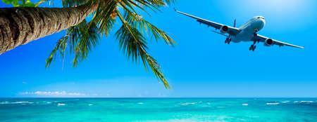 Tropical vacation concept Standard-Bild