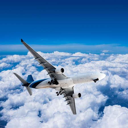 Final approach before landing photo