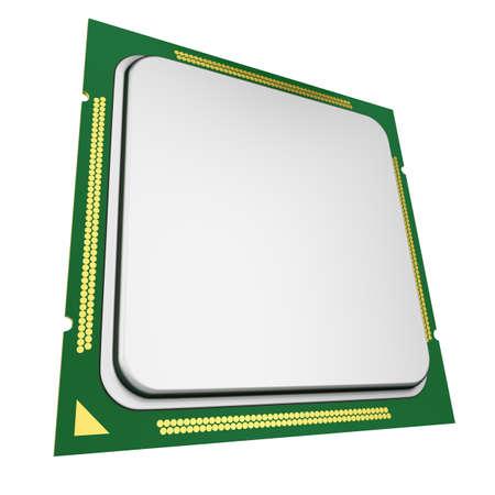 cpu: CPU on white