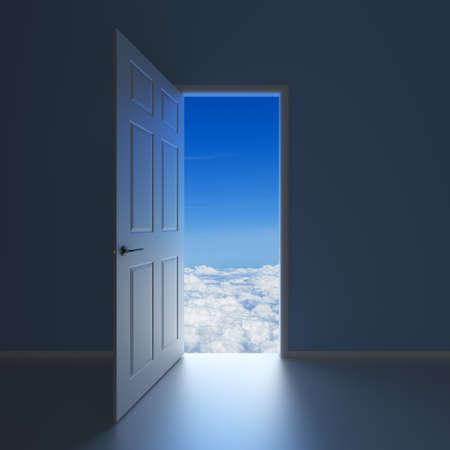 doorway: A doorway to Heaven