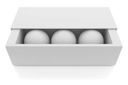 golf ball: Golf balls Stock Photo