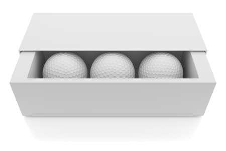 golf  ball: Pelotas de golf  Foto de archivo