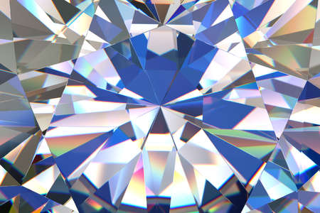 Abstract diamond Stock Photo