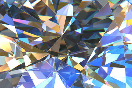 diamond background: Crystal abstract
