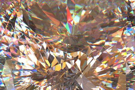 dispersion: Diamond light dispersion abstract