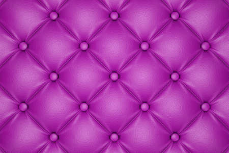 quilted fabric: 3D render of the pink quilted leather pattern Stock Photo