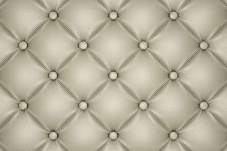 quilted: 3D render of the beige quilted leather pattern