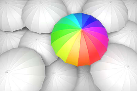 Be different conceptual 3D illustration
