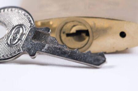 key and padlock Stock Photo - 626524