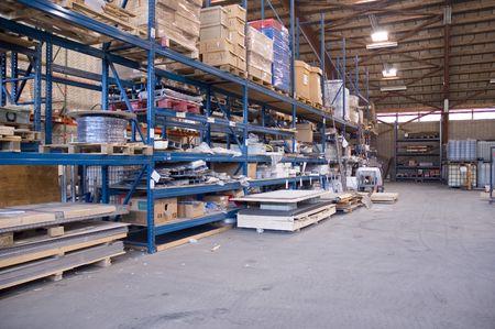 warehouse  straight photo
