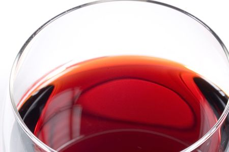 detailed picture of a glass of red wine Stock Photo - 730031