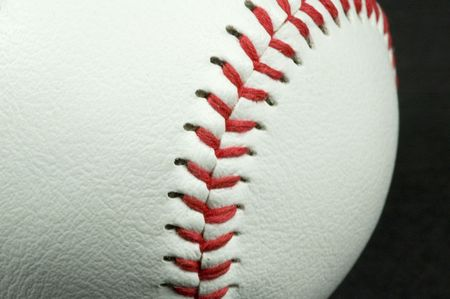 baseball close-up photo