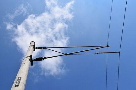Traction power line rail corridor