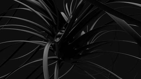 Abstract black background. 3d rendering 3d illustration. Фото со стока