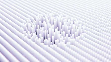 Futuristic technology background. 3d rendering, 3d illustration.