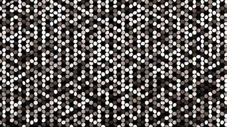 Beautiful black background with silver glitter. 3d rendering, 3d illustration. Foto de archivo - 133407026
