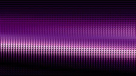 Beautiful black background with a purple glitter. 3d rendering, 3d illustration. Foto de archivo - 133407047