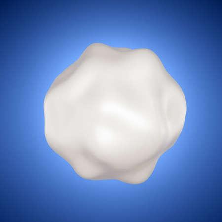 Milk is a form. 3d rendering 3d illustration. Stockfoto - 133426250