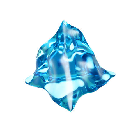 The triangle of ice. 3d rendering 3d illustration. Stock fotó