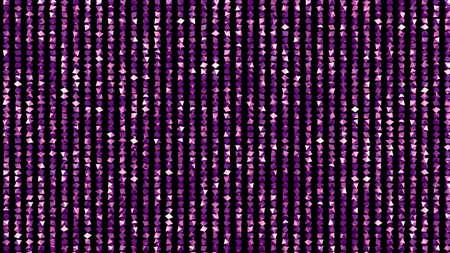 Beautiful black background with a purple glitter. 3d rendering, 3d illustration. Foto de archivo - 133418604