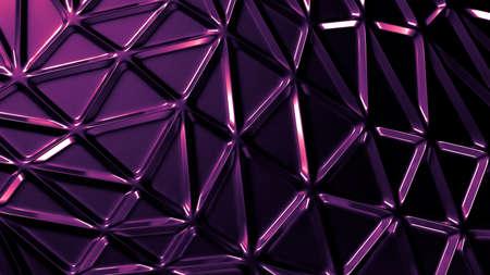 Purple metal industrial grunge background. 3d rendering 3d illustration. Stock fotó