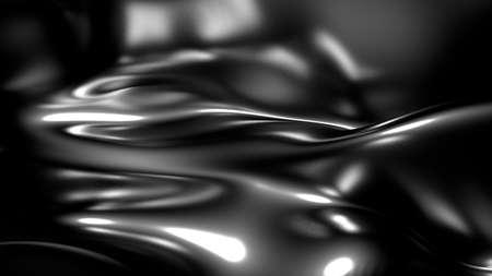 Stylish black background. 3d rendering, 3d illustration. Stock fotó