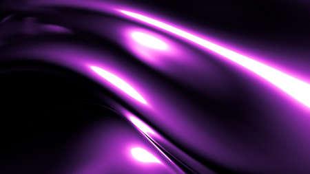 Stylish elegant black, purple background. 3d illustration, 3d rendering. Stock fotó