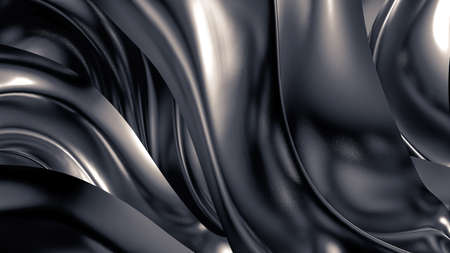 Luxury gray background. 3d illustration, 3d rendering.