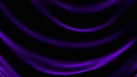 Black abstract wave background.  3d rendering, 3d illustration. Stock Photo