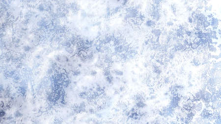 Winter, Christmas background with beautiful texture of snow and ice. 3d rendering, 3d illustration.