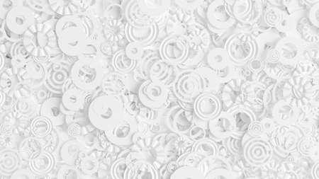 Detailed geometric background. 3d rendering, 3d illustration.