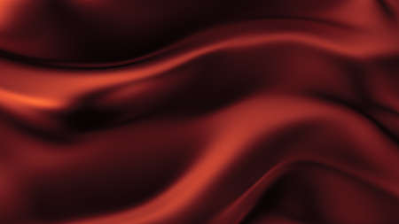 Abstract background with beautiful red cloth. 3d rendering, 3d illustration.